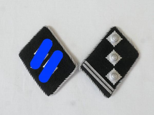 Waffen Elite Kragenspiegel / Obersturmführer Oberleutnant , Paar