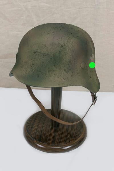 Wehrmacht camouflage Normandie Stahlhelm M35 M40 DD Rauhtarn Tarnhelm Gr.57/58 #56