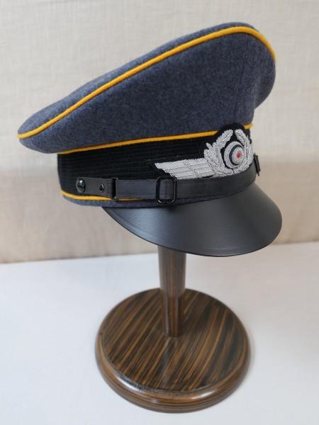 Luftwaffe Fallschirmjäger Schirmmütze Gr.60 Knautschmütze / Crusher Cap