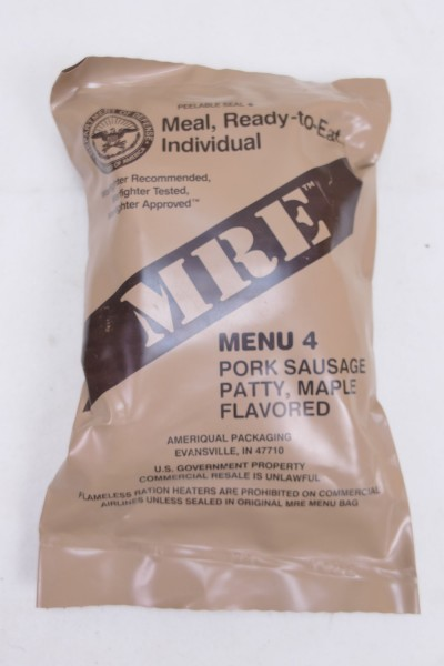 US Army MRE NATO Meal Ready to Eat Field Ration Mahlzeit