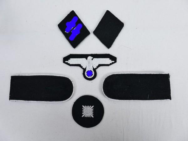 Satz Effekten Abzeichen Waffen Elite Schulterklappen Ärmeladler Kragenspiegel für einen Oberschützen