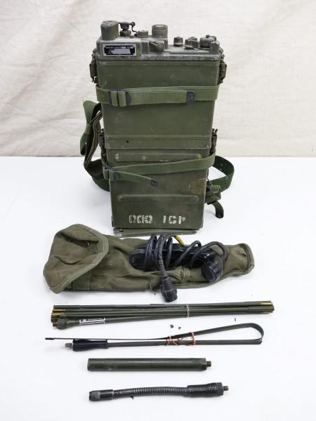 #20 US ARMY FUNKGERÄT VIETNAM RADIO RECEIVER PRC-9/10 + Zubehör WILLYS JEEP