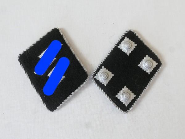 Waffen Elite Kragenspiegel / Sturmbannführer Major , Paar