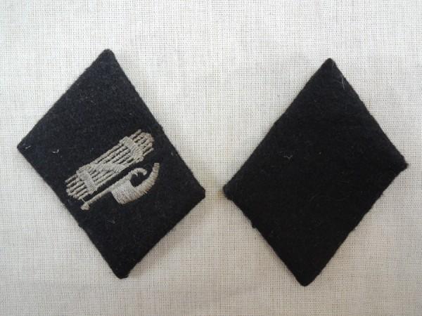 Kragenspiegel Elite für einen SS Mann in der italienischen 29. Waffen SS Division