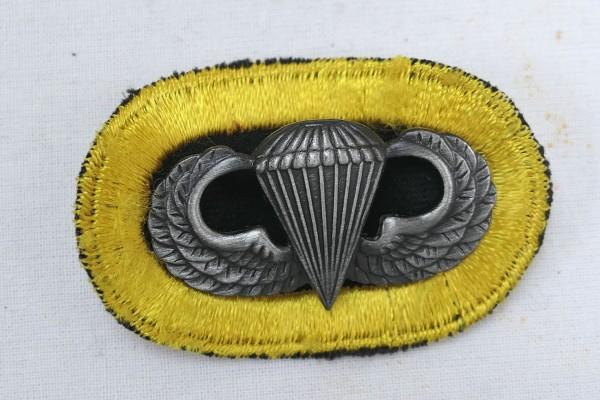 #13 US Airborne Jump Wing oval - Parachute badge Fallschirmjäger Abzeichen Springerabzeichen