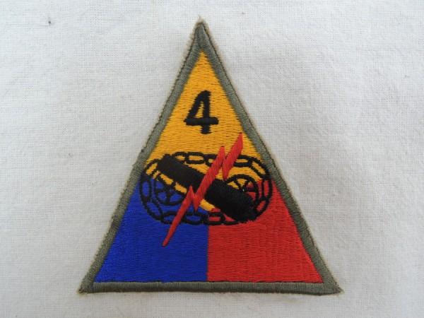 Ärmelabzeichen 4th Armored Division