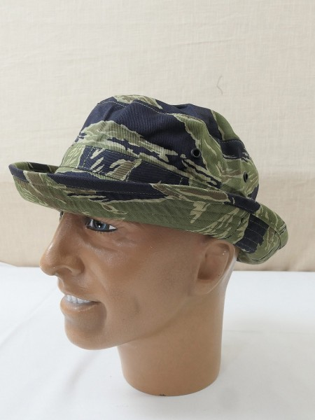 US ARMY Vietnam Tiger Stripe Boonie Buschhut Jungle hat Special Forces LRRP MIKE