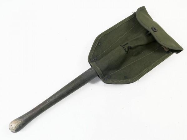 US Army WK2 Klappspaten 1944 mit Spatentasche