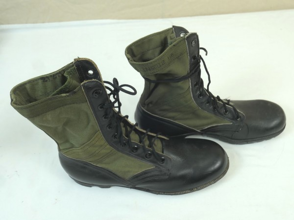 Original US Army Vietnam Dschungelstiefel Panama oliv Jungle boots Gr. 11 - EU45