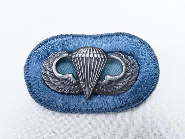 #04 US Airborne Jump Wing oval - Parachute badge Fallschirmjäger Abzeichen Springerabzeichen