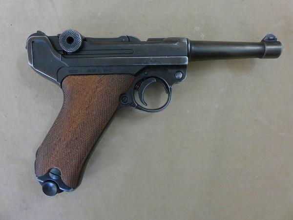 WW2 Wehrmacht Pistole P08 Mauser