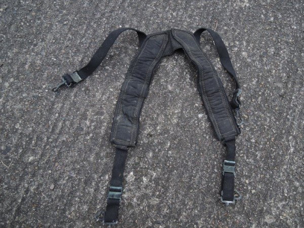 US Suspenders Special Forces OPS Koppel Tragegestell M-1956 schwarz Viet Nam