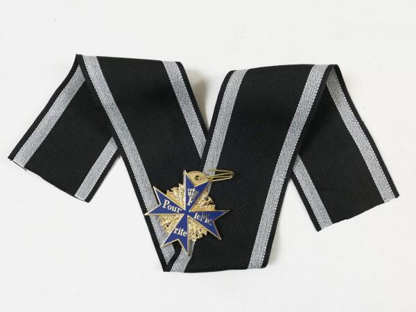 Orden Pour le Mérite am Band / Blauer Max