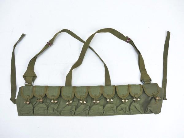 Chinese Vietcong SKS Munitions Bandolier Magazintaschen Ammo chest rig