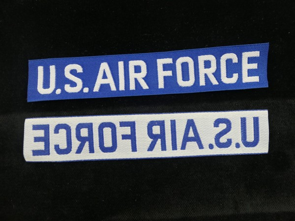 US Air Force USAF Abzeichen Patch gewebt