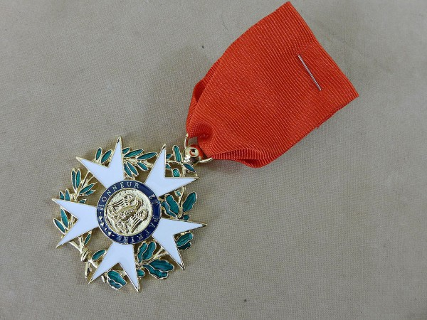 Auszeichnung Kreuz der Französischen Ehrenlegion / French Legion of Honour Medal