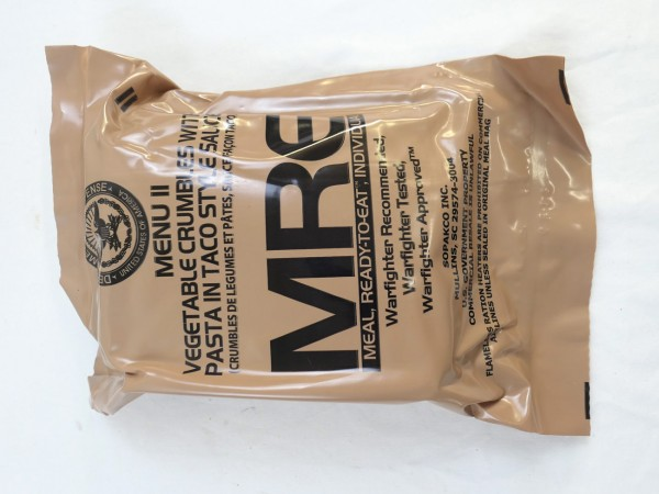 US Army MRE Menue 2 / Meal - Ready to eat Individual inspiziert bis 11/2019