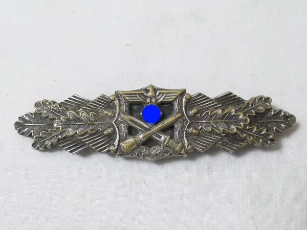 Original Nahkampfspange Silber A.G.M.u.K. Gablonz