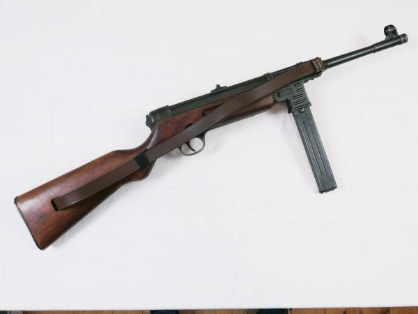 MP41 Schmeisser MP 41 Maschinenpistole Deko Modell Antik Filmwaffe Denix + Trageriemen