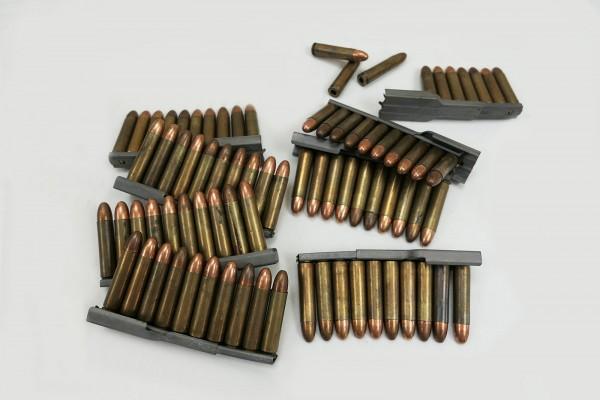 US M1 Carbine Ladestreifen mit 10x Schuß Deko Patronen Munition