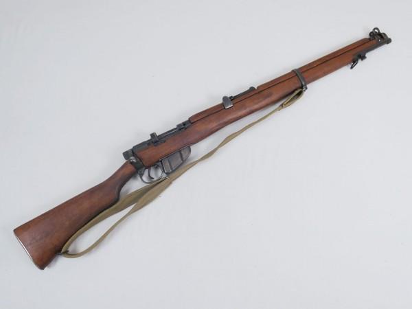 Lee-Enfield Rifle SMLE MK III Deko Modell antik Filmwaffe mit Trageriemen