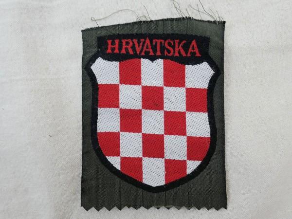 Ärmelabzeichen Uniform Ärmelschild Freiwilligen Elite Kroatien HRVATSKA
