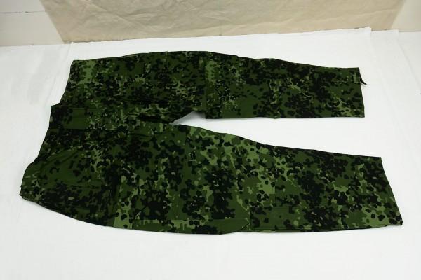 Gr. XXL - Dänemark Gore-tex Nässeschutz Hose Flecktarn HMAK 2008 Regenhose