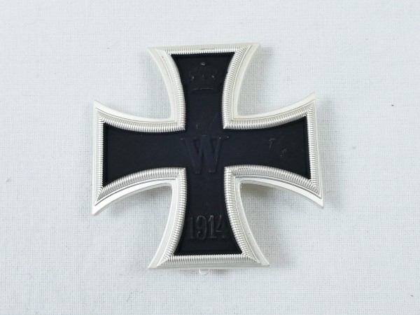 WK1 Eisernes Kreuz 1.Klasse 1914 EK1 an Nadel gewölbte Ausführung