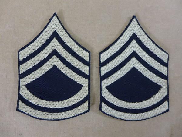 US ARMY WW2 Ranks Dienstgradabzeichen T/Sgt Technical Sergeant Uniform Rang Abzeichen