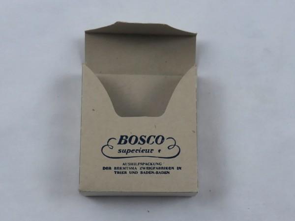 """Zigarettenpäckchen Zigarettenschachtel """" Bosco Superieur """""""