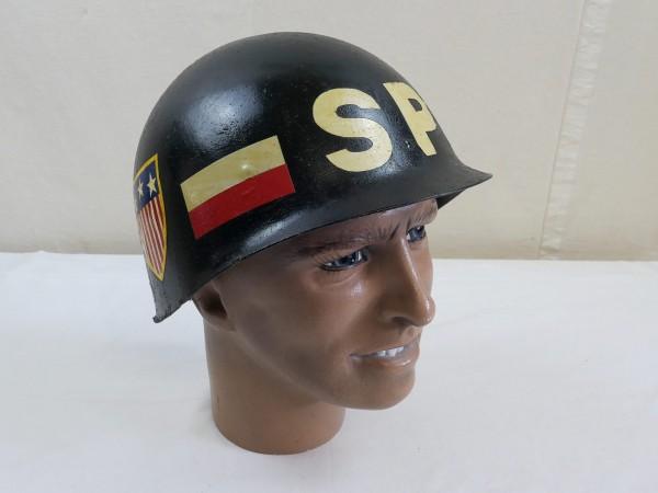 Militärpolizei Military Police / SP Navy Police Helmet combat helmet liner 1971