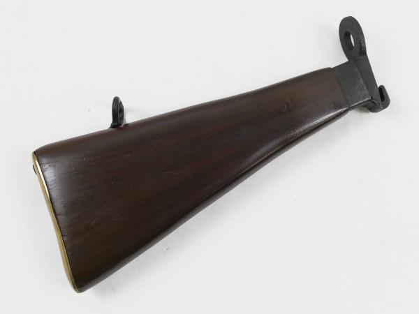 Holz Schulterstütze / Buttstock für British Army WW2 STEN MP - auch für Denix Modell
