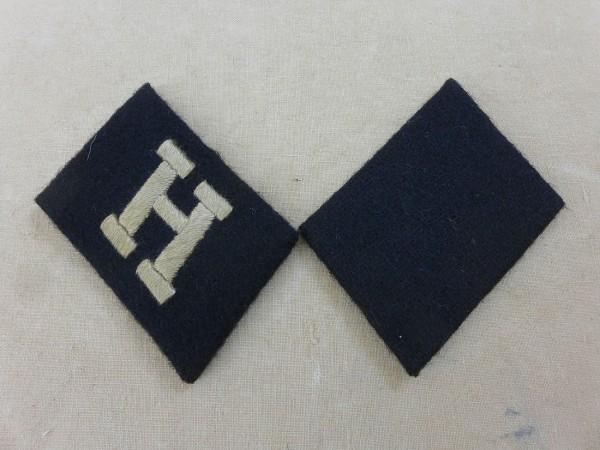 """Kragenspiegel 25. Ungarische Freiwillige Waffen SS Grenadier Division """"Hunyadi"""" / Ungarische Nr.1"""