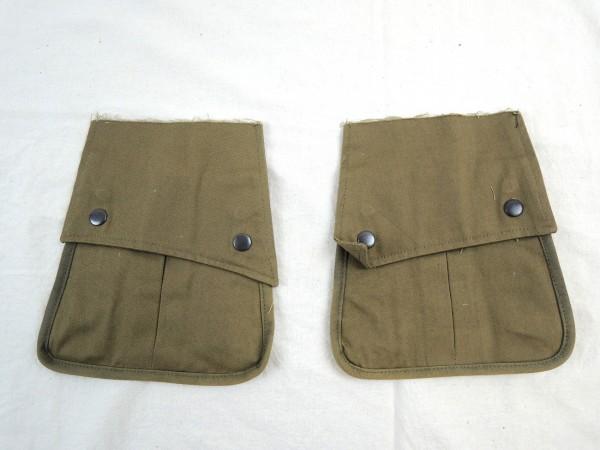 US WW2 2x Tasche für Feldjacke / PARA ARM POCKETS POUCHES M42 Jacket