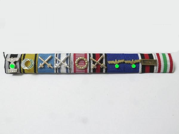 Wehrmacht Bandspange Erwin Rommel Feldspange an Nadel - Der Wüstenfuchs Afrikakorps