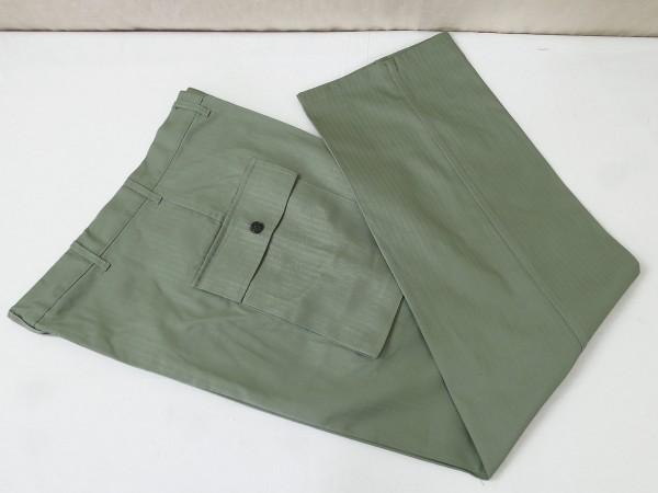 US WW2 HBT Vintage Trousers Fischgrät Hose Feldhose Herringbone Twill 1942 pattern