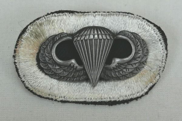 #08 US Airborne Jump Wing oval - Parachute badge Fallschirmjäger Abzeichen Springerabzeichen