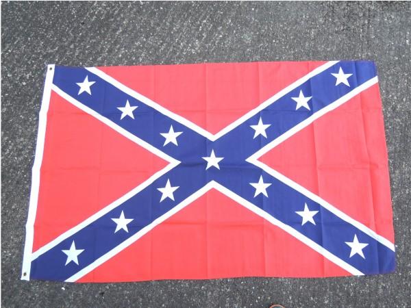 US Fahne flag Südstaaten 90 x 150 cm mit Metallösen zum Aufhängen