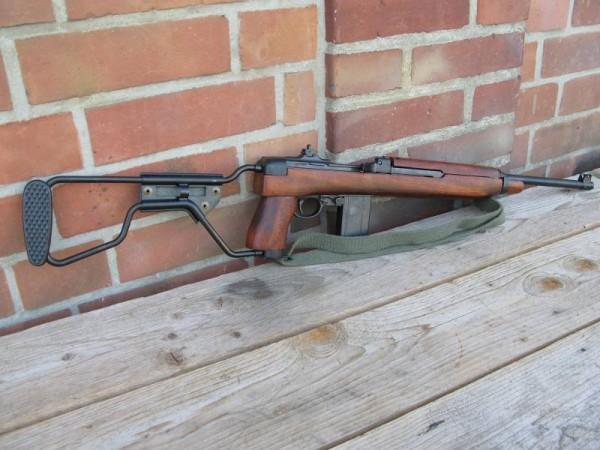 US Army M1 Carbine Klappschaft Deko Modell Filmwaffe