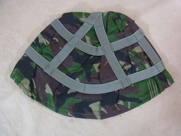 GB British Helmet Cover GS MK6 woodland DP Helmbezug DPM Gefechtshelm