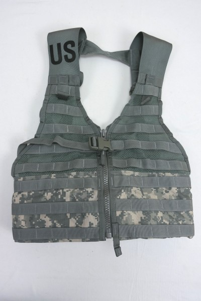 US Army Molle II ACU Fighting Load Carrier Vest FLC Tactical Weste