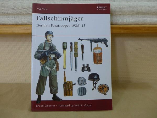 Osprey Warrior / German Paratrooper 1935-45 - Fallschirmjäger