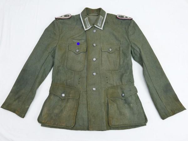 Wehrmacht Feldbluse M42 Stabsfeldwebel Panzerjäger Uniform aus Ausstellung Museum