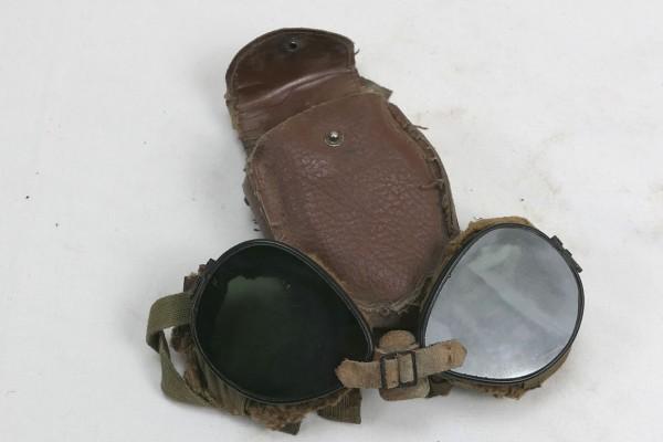US ARMY WW2 Ski + Mountain Trooper Goggles - Gebirgsjäger Brille in Etui #2