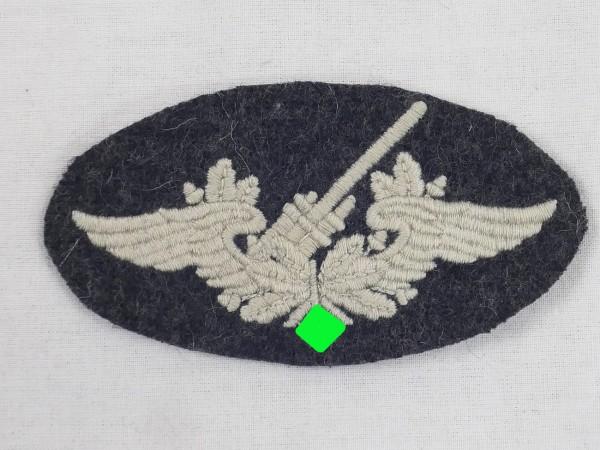 Luftwaffe Stoffabzeichen Ärmelabzeichen für Flak Artillerie