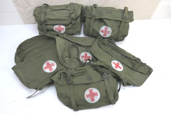 US Pack Field Cargo M-1945 Medic Willys Jeep Tasche Sanitäter Red Cross Rotkreuz
