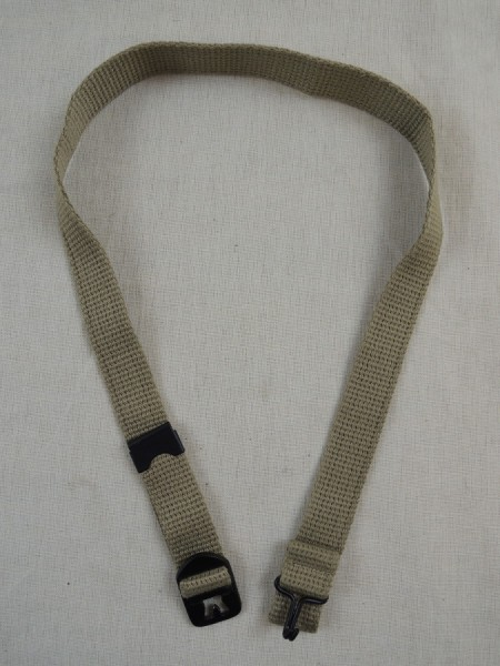 US ARMY WW2 Kinnriemen canvas chin strap Messing M1 Stahlhelm
