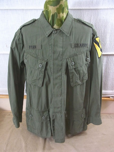 US Army Feldjacke Jungle Jacket M64 Vietnam oliv