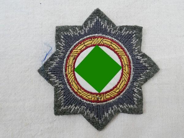 Deutsches Kreuz in Gold Stoffabzeichen Luftwaffe Fliegerbluse