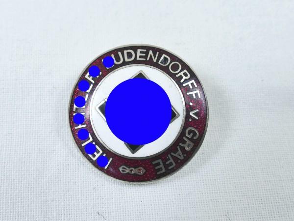 """NSDAP Sympathie RZM Abzeichen an Nadel """" Ludendorff v. Gräfe """""""